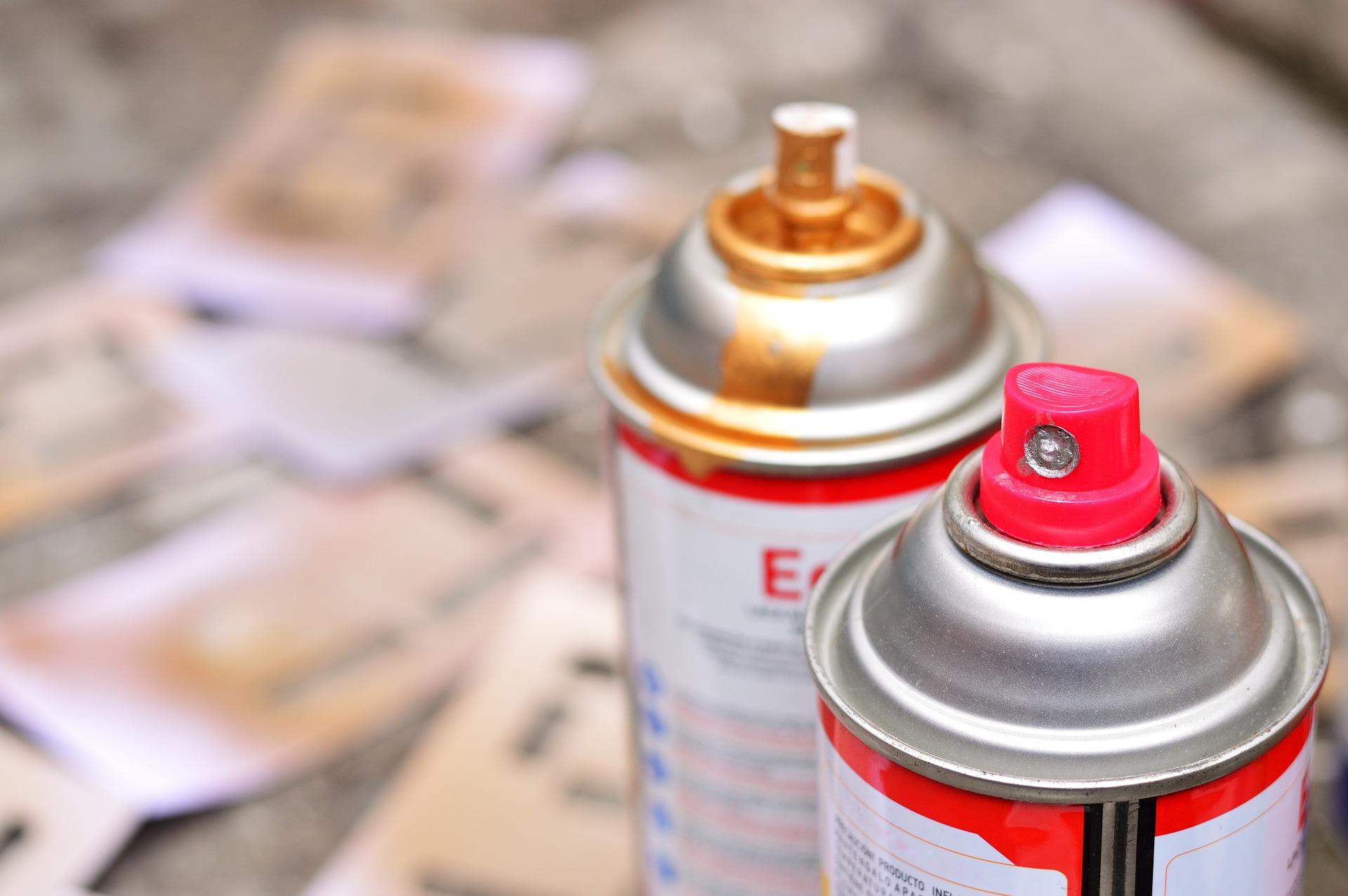 custom aerosol paint